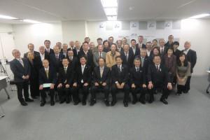 支援する会30年記念式典出席者