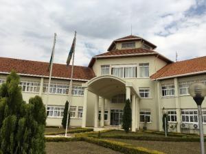 私の職場 ルワマガナ郡庁